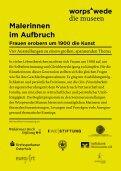 Begleitprogramm Sommer 2013 - Worpswede Museen - Seite 2