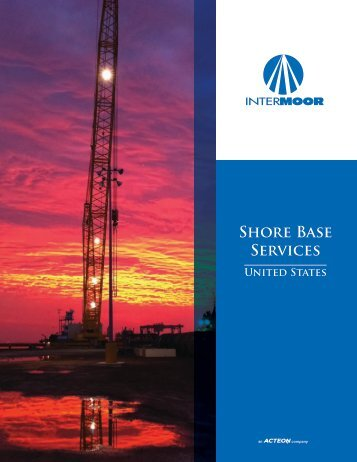 U.S. Shorebase Services (pdf) - InterMoor