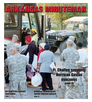 October - Arkansas National Guard