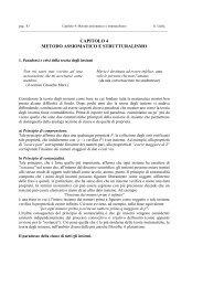 CAPITOLO 4 METODO ASSIOMATICO E STRUTTURALISMO - DMI
