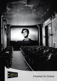 A Passion for Cinema - Fondation Groupama Gan pour le Cinéma