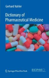 220-Dictionary of Pharmaceutical Medicine, 2nd Edition-Gerhard Nahler Annette Mollet-3211898352-S