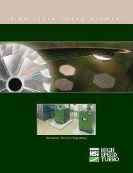 HT Series Brochure - HSI Blowers