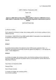Le 13 décembre 2009 JORF n°0286 du 10 décembre 2009 Texte n ...