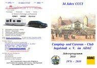 Jahresprogramm 2010 als pdf-Datei - Campingclub Ingolstadt im ...