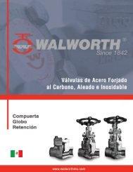 válvulas de retención acero forjado clase 800 - Tubrivalco.com.mx