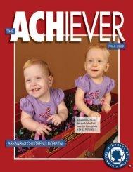 Fall 2009 - Arkansas Children's Hospital