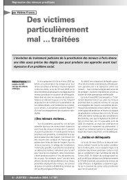 Traitement judiciaire des enfants prostitués à paris ... - Ecpat France
