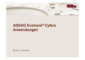 Kronenrad Anwendungsbeispiele - ASSAG :: Antriebstechnik