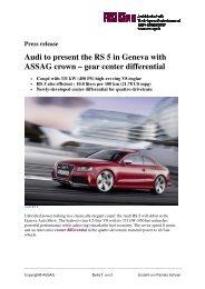 2010 22 Februar Audi RS5-EN - ASS AG