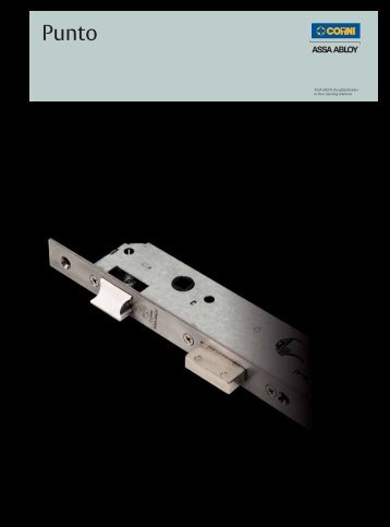 Strike plate for Punto locks - ASSA ABLOY