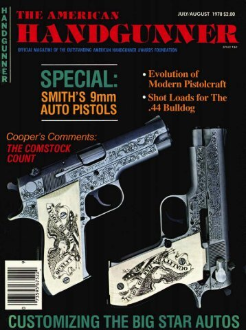 July/August 1978 - American Handgunner