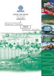 BERJAYA LAND BERHAD Laporan Tahunan - Berjaya Corporation ...