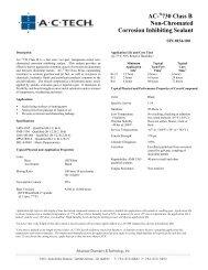 AC- 730 Class B Non-Chromated Corrosion Inhibiting Sealant
