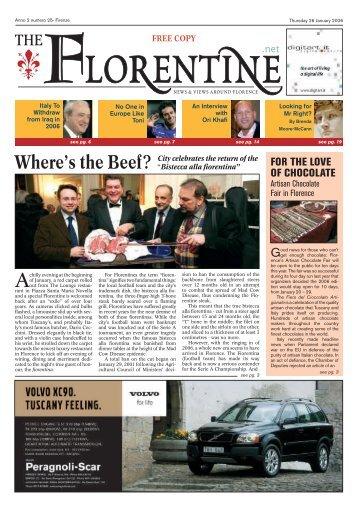 NEWS - The Florentine