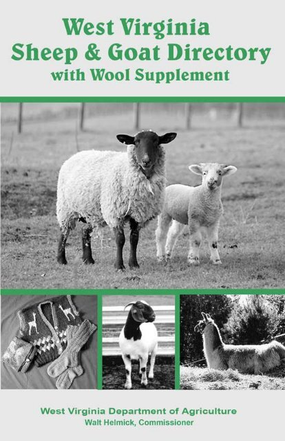 WV Sheep & Goat Directory - West Virginia Department of Agriculture