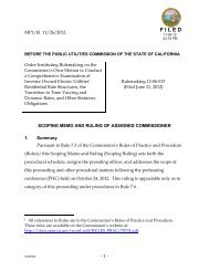 IOU Rate Structure Order Instituting Rulemaking Scoping Memo