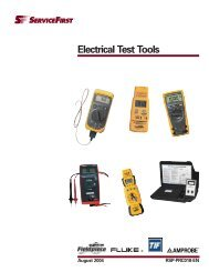 Electrical Test Tools - Trane