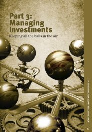 Part 3: Managing Investments - Engaged Investor