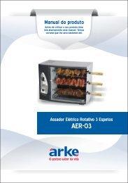 Manual do produto - Arke
