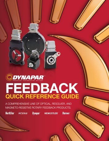 Quick reference guide dynapar feedback quick reference guide dynapar sciox Image collections