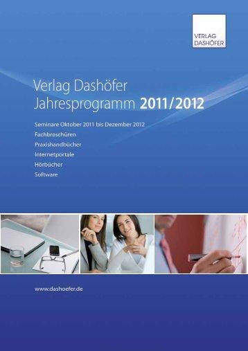 Business-Seminare... - Verlag Dashöfer