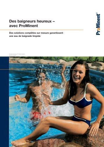 Brochure - Des baigneurs heureux – avec ProMinent