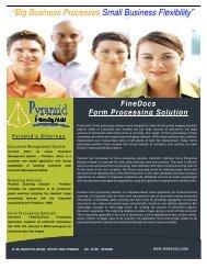 Form Processing - FineDocs