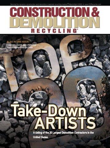 Demolition, Dismantling - DH Griffin