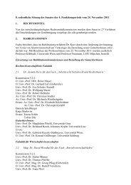 8. ordentliche Sitzung: Donnerstag, 24. November 2011