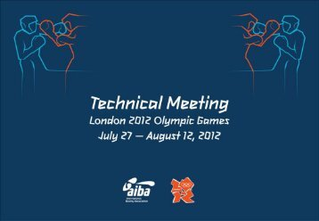 Final London Technical Meeting Presentation 23 07 2012 - IABA