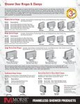 Frameless shower products - Morse Industries - Page 2