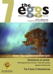 The Future of Geosciences - European Geosciences Union