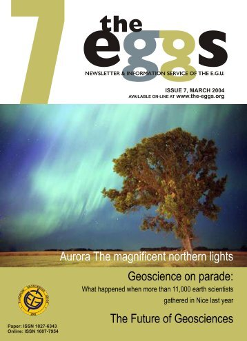 The Future of Geosciences - European Geosciences Union