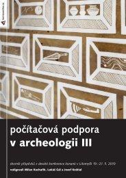 počítačová podpora v archeologii III