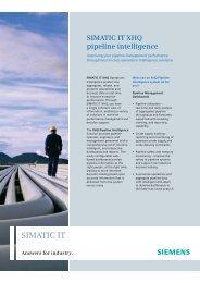 SIMATIC IT - Siemens