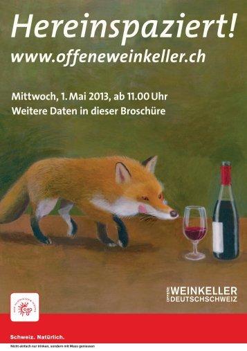 Broschüre als PDF - Offene Weinkeller