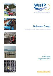 Water and Energy - Danish Water Forum
