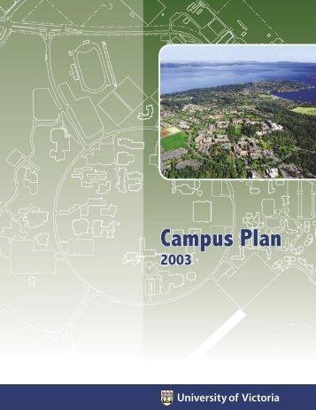 University of Victoria Campus Plan 2003
