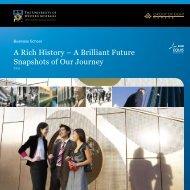 A Rich History - The University of Western Australia