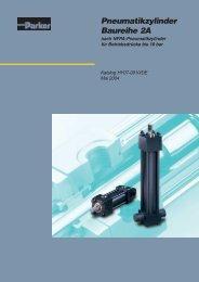 Pneumatikzylinder Baureihe 2A - Siebert Hydraulik & Pneumatik