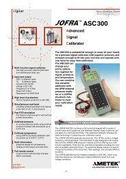 ASC300 Advanced Signal Calibrator - Mr Test Equipment