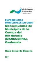Mancomunidad de Municipios de la Cuenca del Rio Naranjo ...