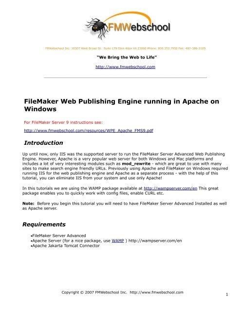 WPE_Apache pdf - FMWebschool