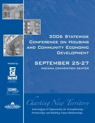 SEPTEMBER 25-27 - Indiana Association for Community Economic ...