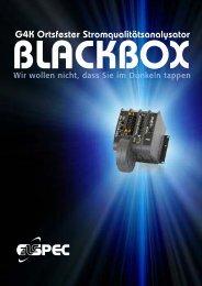 ELSPEC G4k BLACKBOX Festeinbau-Netzanalysator