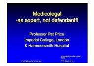 Medicolegal -as expert, not defendant!! - MIR-Online