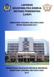 lakip - Direktorat Jenderal Bea dan Cukai
