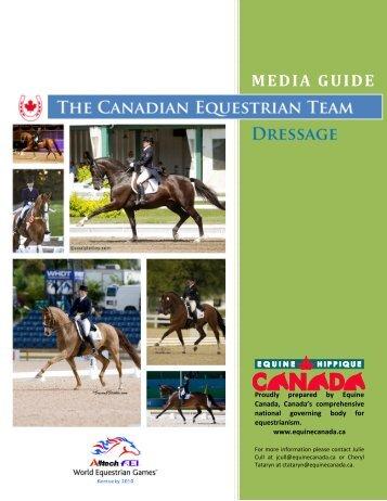 MEDIA GUIDE - Equine Canada