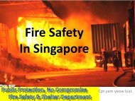 Fire Safety in Singapore
